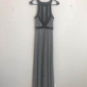 BCBG silver cocktail dress